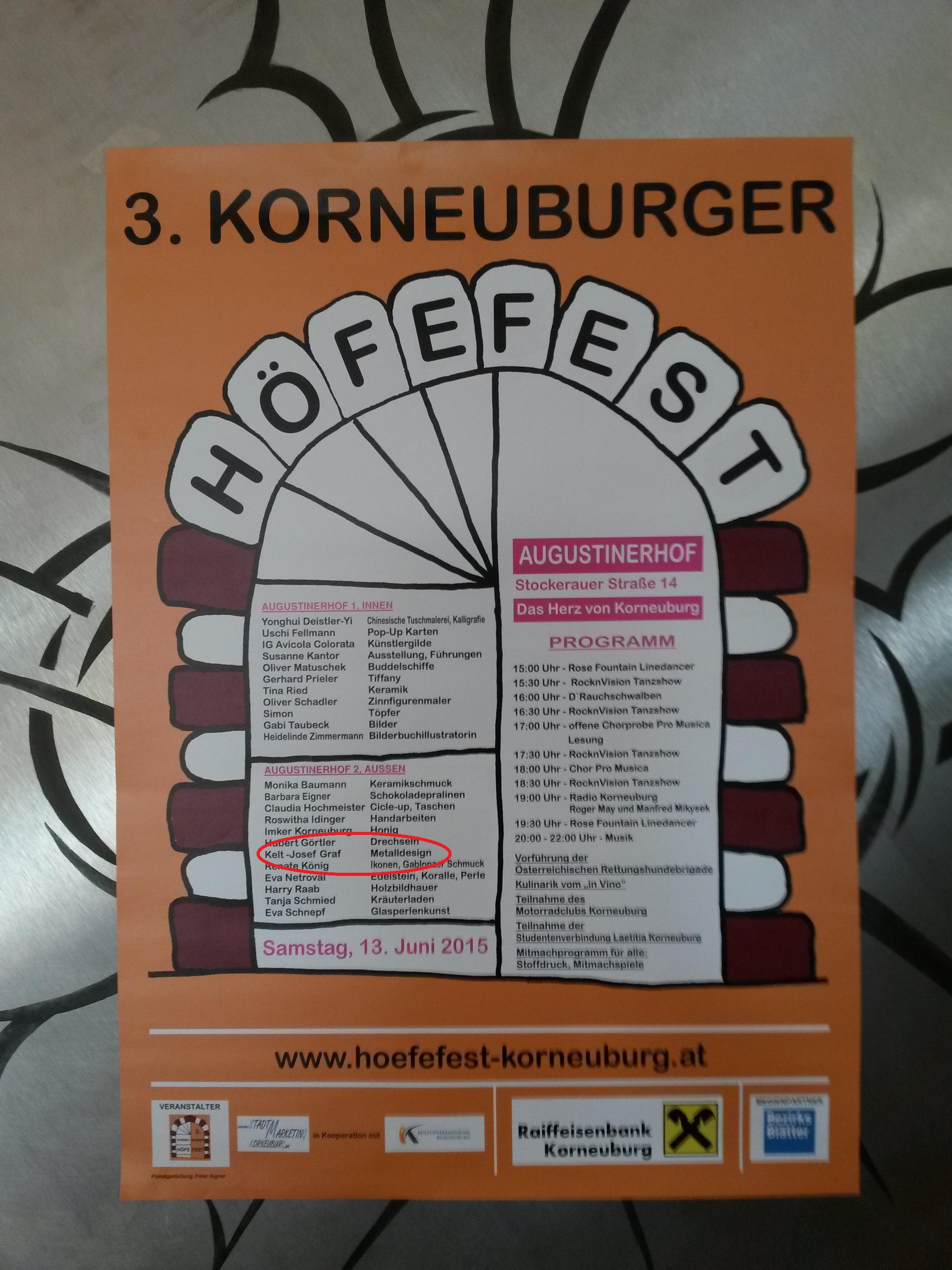 Höfefest Korneuburg 13.06.15